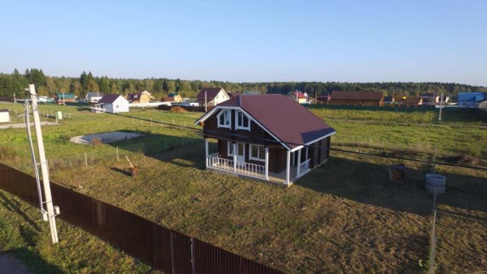 Дом в поселке Лыткино-3 на участке 32