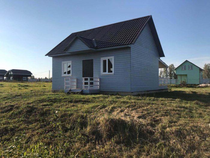 Дом в поселке Лыткино-3 на участке 23A